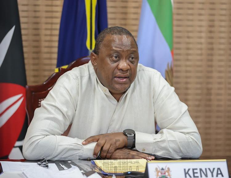 President Uhuru Kenyatta on Thursday hosted this year's virtual African Green Revolution Forum (AGRF) summit at State House, Nairobi.